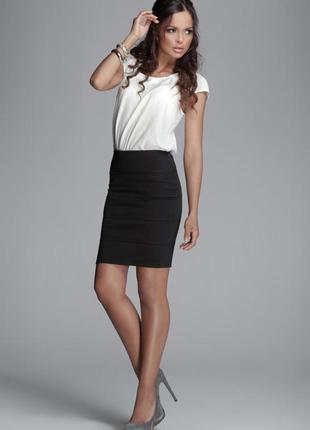 Классическая юбка-карандаш sisley