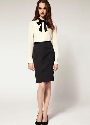 Юбка черная, юбка карандаш, юбка для офиса