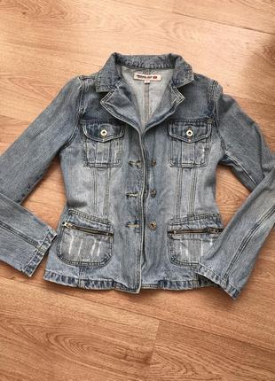 Джинсовка/ джинсова куртка/ джинсовий піджак. original ado