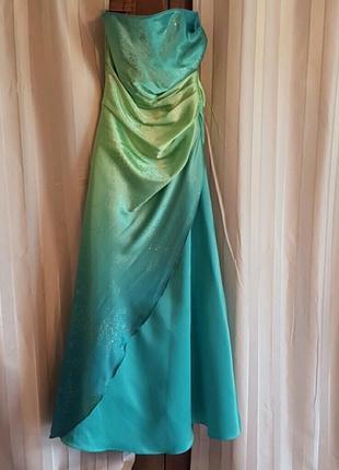 Новое платье на худую xs 36 40-42 вечерние сукня випускна выпускное