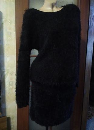 Классный, тепленький костюмчик, большого размера