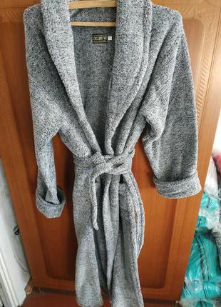 Халаты махровые (велсофт) , размеры 48-545 фото