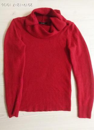 Шикарный красный свитер george, размер s