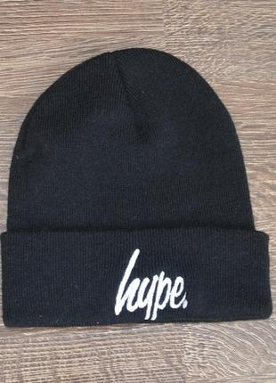 Стильная теплая трендовая шапка hype ® beani hats hype