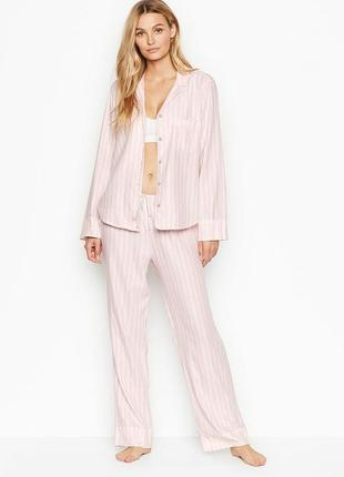 Фланелевая пижама виктория сикрет victoria's secret, оригинал!