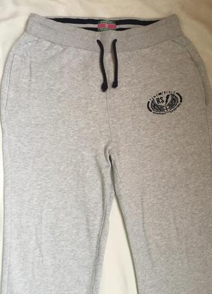Теплые спортивные домашние брюки l-xl (48-50)