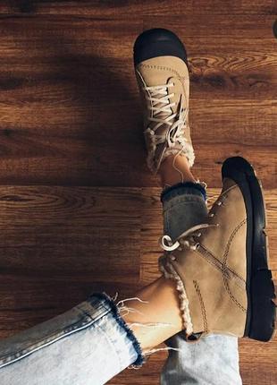 Зимние ботинки clarks!