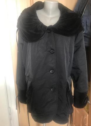 Зимова куртка на флісі