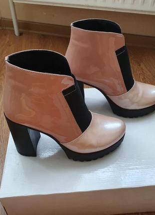 Ботинки, 39 р, кожа