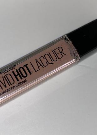 Maybelline vivid hot lacquer блеск помада l'oreal