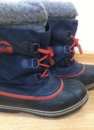 Взуття зимове тепле sorel 38-39р ботинки, обувь термо