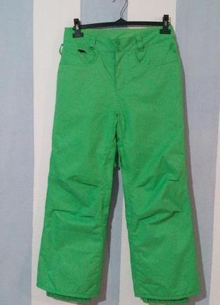 Теплі лижні штани на синтепоні
