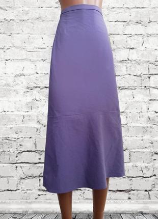 Лиловая /cиреневая юбка