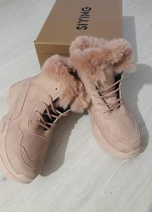 Ботинки женские, зима!!