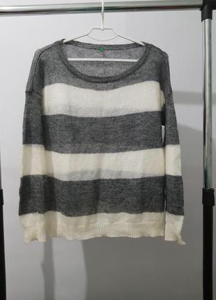 Мохеровый свитер benetton