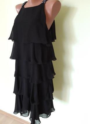 Коктейльное платье с авантюрином