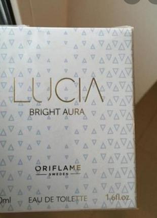 Туалетна вода lucia bright aura