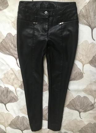 Крутые актуальные штаны из экокожи
