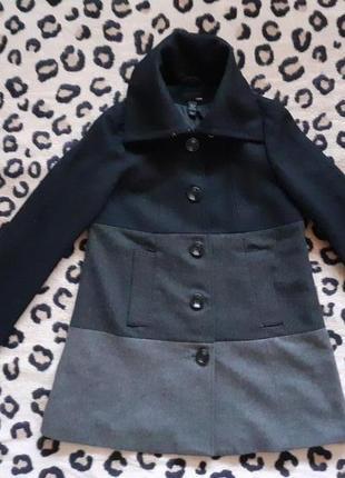 Пальто женское h&m.  оригинал  демисезон. 42-44. м- l.