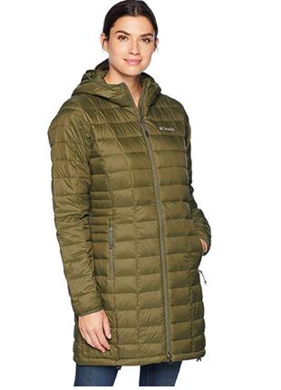 Куртка женская, пуховик columbia, размер l