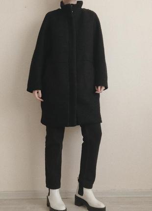 Пальто с шерстью