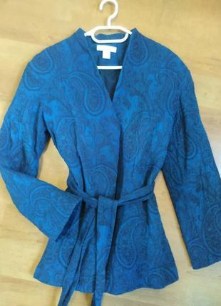 Стеганый пиджак кимоно