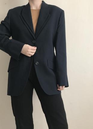 Пиджак винтаж шерсть