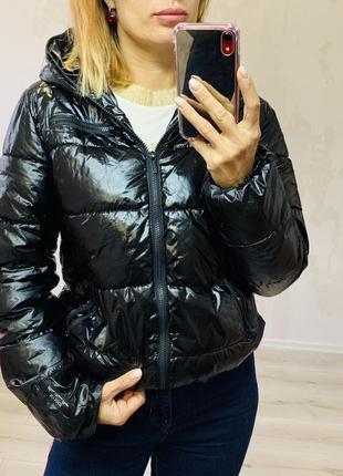 Лаковая куртка