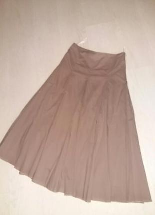 Бомбезная юбка на подкладке 38 размер