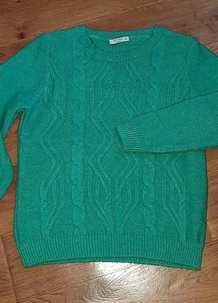 Шикарный теплый свитер
