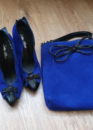 Туфли и сумка,  комплект