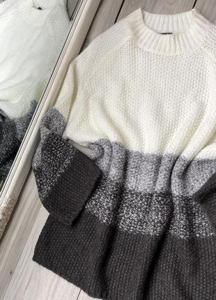 Удлиненный шерстяной свитер германия хл