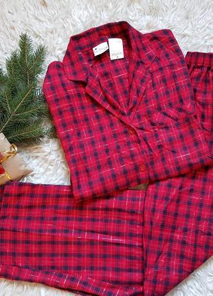 Шикарная хлопковая пижама la senza! размер - 12-14/40-42