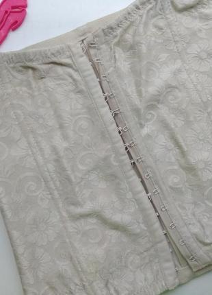 Бежевый корсет/утягивающее белье