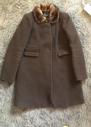 Пальто шерстяное tara jarmon