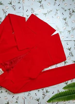 🌿1+1=3 шикарный красный итальянский пиджак pinko, размер 44 - 46