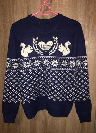 Fb sister новогодний красивый свитер