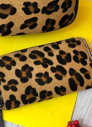 Очень красивый кошелек портмоне из натуральной кожи италия гаманець шкіряний