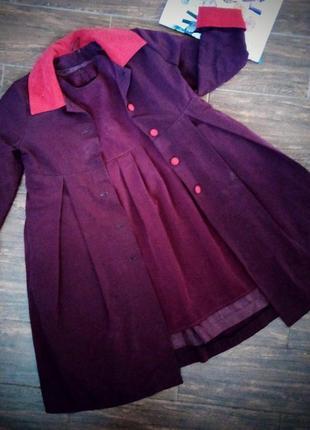 Комплект плащ+плаття/ плащ и платье/ ручная работа