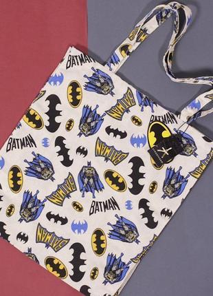 Еко сумка з принтом batman