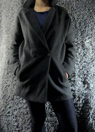 Пальто-бойфренд blue motion1
