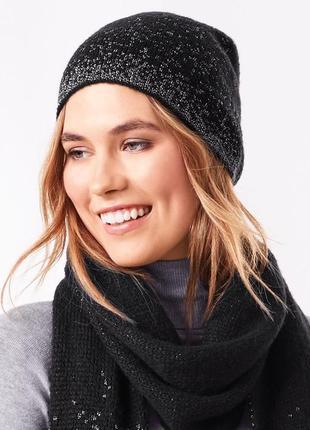 11  ☘шапка☘ вязаная теплая шапочка от tchibo(германия), размер универсальный