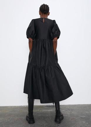 Платье из хлопка zara2 фото