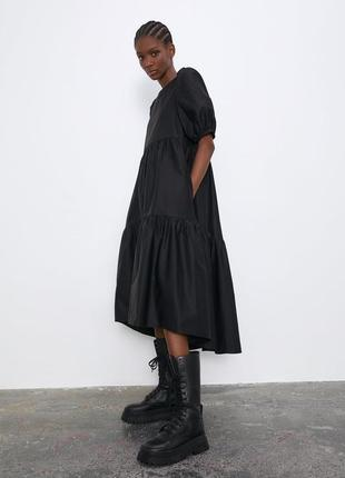 Платье из хлопка zara3 фото