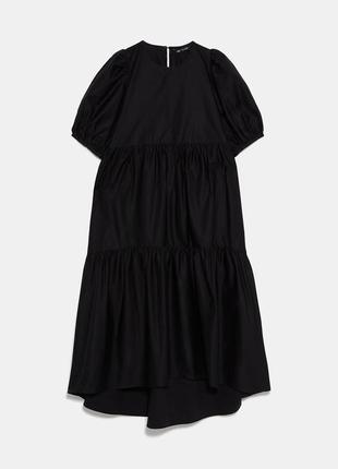 Платье из хлопка zara4 фото