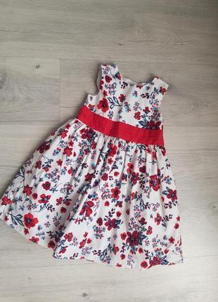 Нарядное платье от mothercare