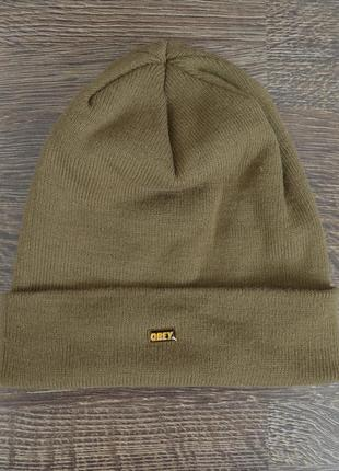 Оригинальная теплая шапка obey ® beani hats