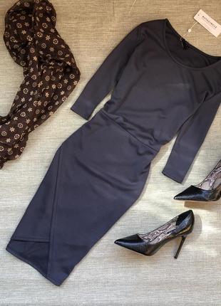 Платье в темно-сером цвете от ruit&circle