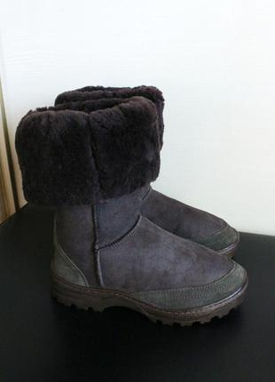Оригинал jumbo ugg australia замша овчина ботинки угги уги