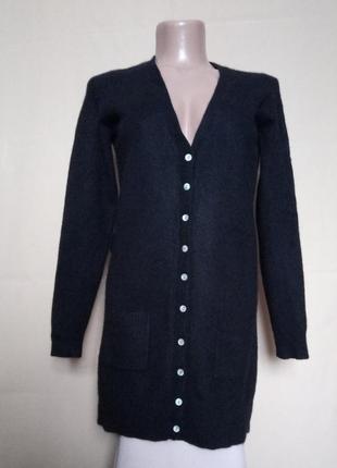Кашемировый 100% свитер кардиган